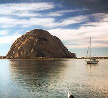 Morrow Rock in Morrow Bay, California by Light Right Photos