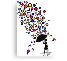 Singin' in the Rain Canvas Print