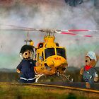 Kevs care flight teddy's by kevin chippindall