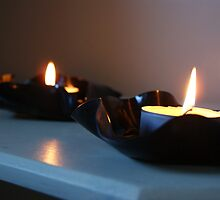 Vinyl Candles by movemountains