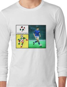 roberto baggio Long Sleeve T-Shirt