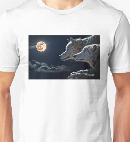 The bond of the wolf Unisex T-Shirt