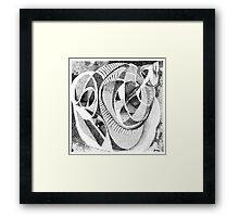 Infinity Shell Framed Print