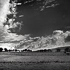 storm clouds over Exmoor by Dorit