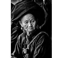 Black Dao, Sin Ho District... Photographic Print