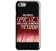 American Horror Story Quotes iPhone Case/Skin