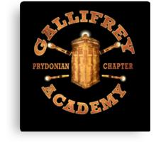 Gallifrey Academy Canvas Print