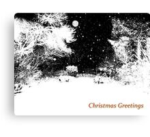 White Christmas Canvas Print
