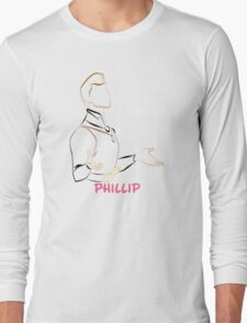 Phillip (Personalized, please Bubblemail/email me before ordering) Long Sleeve T-Shirt