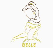 Belle (Personalized, please Bubblemail/email me before ordering) Kids Clothes