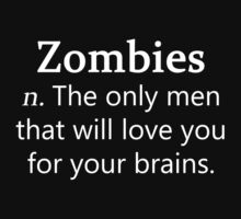 Zombie Definition (White) by Marjuned