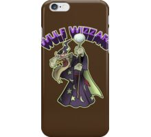 Wulf Wizzard Bad Wizzard iPhone Case/Skin
