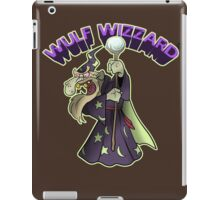 Wulf Wizzard Bad Wizzard iPad Case/Skin