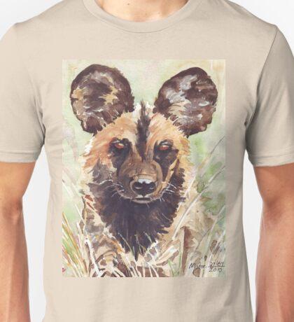 Afrika Wildehond (Lycaon pictus) Unisex T-Shirt