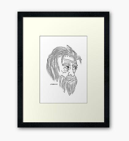 OLDtimer Framed Print