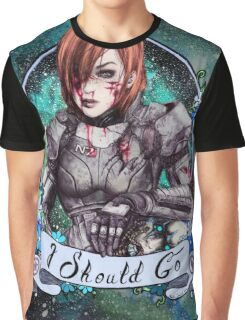 I Should Go (color) Graphic T-Shirt