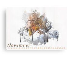 November) Canvas Print