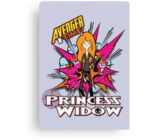 Avenger Time - Princess Widow Canvas Print