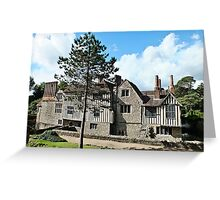 Ightham Mote, Kent Greeting Card