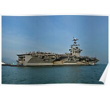 US Aircraft Carrier Poster