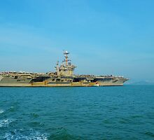 US Aircraft Carrier by Fike2308