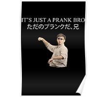 ITS JUST A PRANK BRO Poster