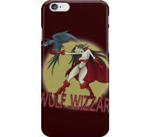 Wulf Wizzard Wizzardress iPhone Case/Skin