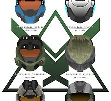 Reach Helmets - Print by Adam Angold