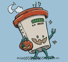 Pumpkin Spice Latte Bot Kids Tee