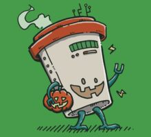 Pumpkin Spice Latte Bot One Piece - Short Sleeve