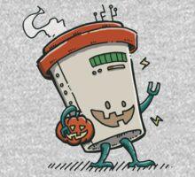 Pumpkin Spice Latte Bot One Piece - Long Sleeve