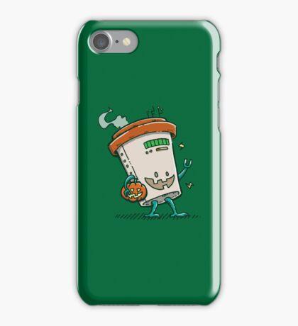 Pumpkin Spice Latte Bot iPhone Case/Skin