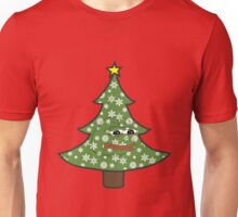 Sad Christmas Pepe Unisex T-Shirt