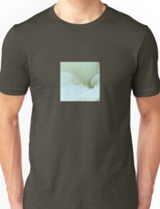 Abstract Angle Of A Calla Lily Flower With Dew And Aqua Unisex T-Shirt