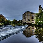 Salts Mill Saltaire by inkedsandra