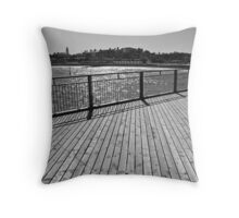 On the Pier - Southwold,Suffolk,UK  Throw Pillow