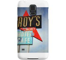 Roy's Motel, Amboy, CA Samsung Galaxy Case/Skin