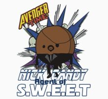 Avenger Time - Nick Candy Agent of S.W.E.E.T Kids Tee