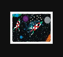Rockets in Space Unisex T-Shirt