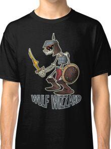 Wulf Wizzard Dark Skeleton Knight Classic T-Shirt