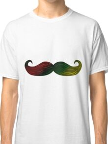 Rasta Bob Marley Mustache Classic T-Shirt