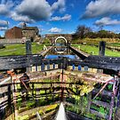 Lock 61 Johnsons Hillock Wheelton by inkedsandra