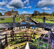 Lock 61 Johnsons Hillock Wheelton by inkedsandra