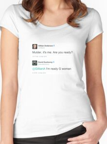 I'm Ready G Woman Women's Fitted Scoop T-Shirt