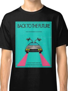 Back To The Future Blue Classic T-Shirt