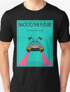 Back To The Future Blue T-Shirt