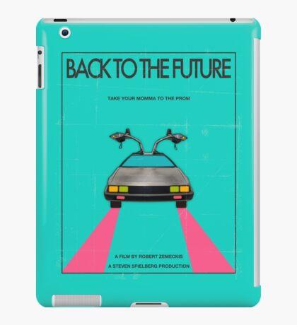 Back To The Future Blue iPad Case/Skin