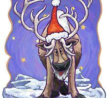 Reindeer Christmas by Traci VanWagoner