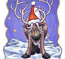 Reindeer Christmas by ImagineThatNYC
