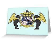 Crest of Columbia Greeting Card